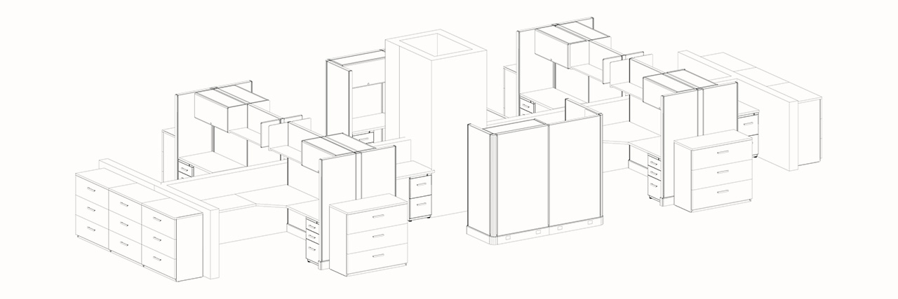 Space-planing-CAD-3D-design