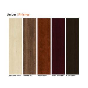 Amber Finish Options