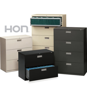 HON LATERAL Files Storage Hon Lateral Files