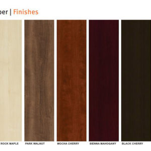 Cherryman Amber color finish guide