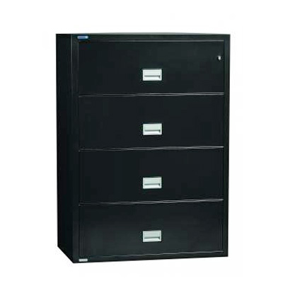 Great Phoenix Fireproof Files · Phoenix 4 Drawer Lateral Black