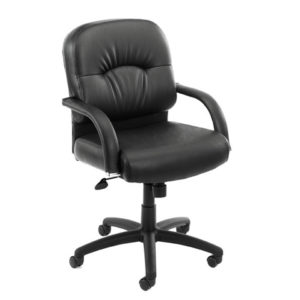 B7406 boss mid back chair