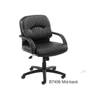 B7406 mid back executive chair 300px