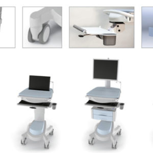ESI Mobile desking options