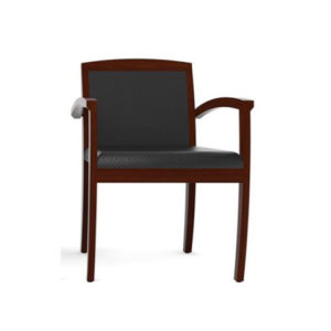 cherryman fabric back guest chair