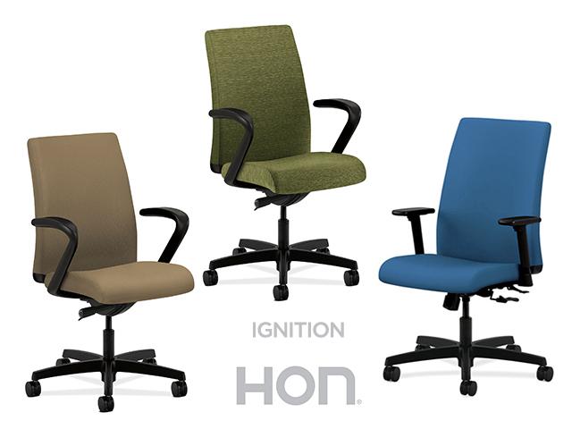 Attirant Hon Ignition Fabric High Back Task Chair