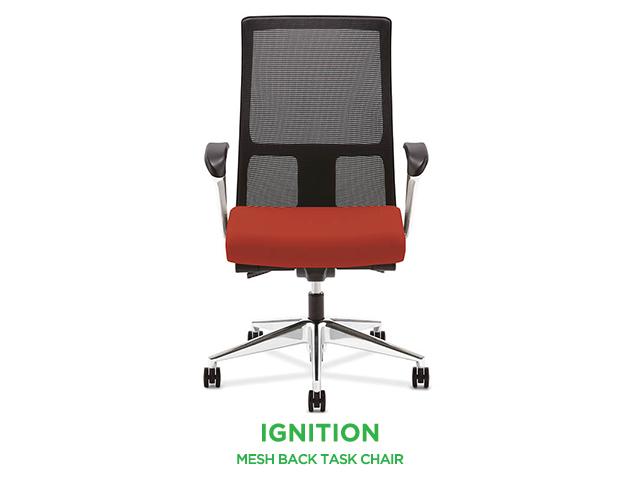 hon ignition fabric task chair arizona office furniture