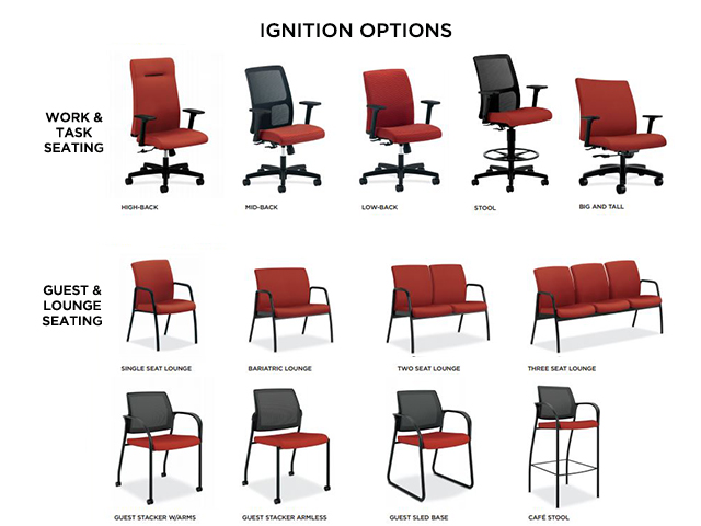Hon Ignition Chair Instruction Manual Hon Ignition Chair