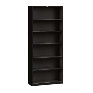 hon metal open bookcase