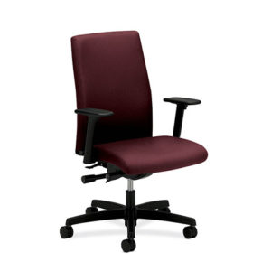 igntion fabric task chair red