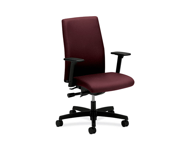 Charmant Igntion Fabric Task Chair Red
