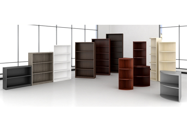 Wood Bookcases Arizona Office Furniture