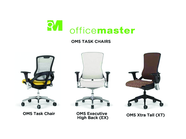 office master om5 task chair - arizona office furniture