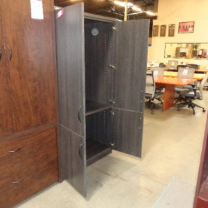 New James Edwards storage cabinet tenino gray