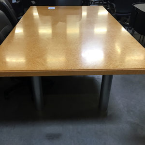 maple burle conference table edge detail