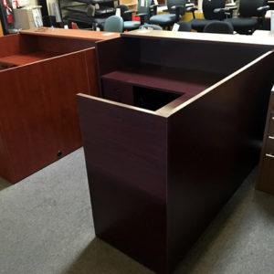 New Cherryman Amber Reception Desks Arizona Office Furniture