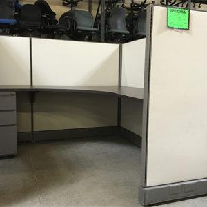 refurbished herman miller ao2 gray low panels 2