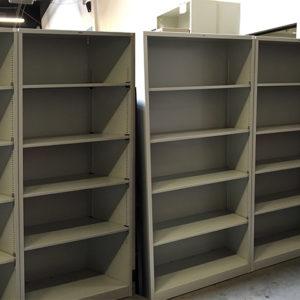 used 60 inch metal book shelf