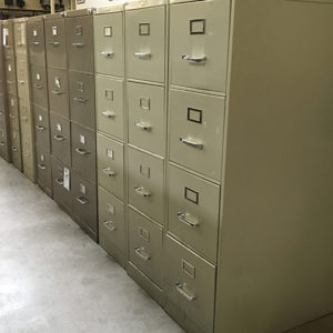 used vertical 4 drawer