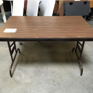 wood laminate folding table