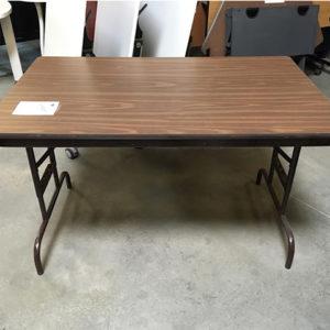 wood laminate folding table