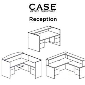 Case reception desk combo image