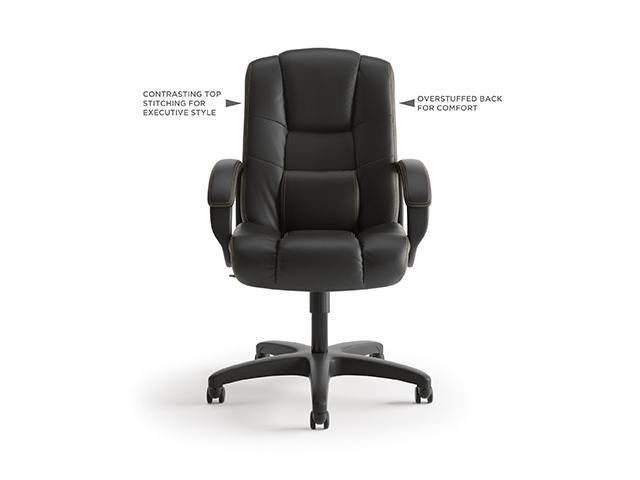 Basyx Hon Vl131 Leather Executive High Back Chair