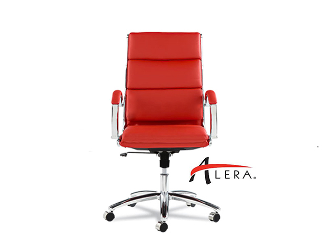 Alera Neratoli High Back Red Front View