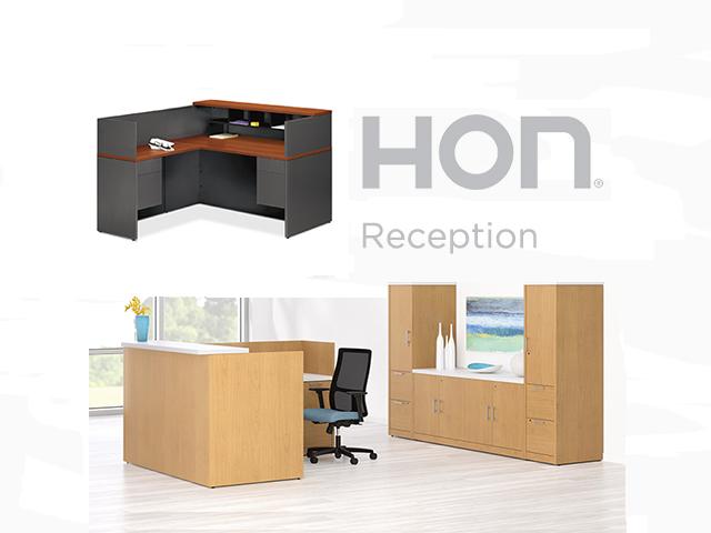 Hon Reception Desk Hon 10500 L Reception Desk With