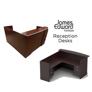 james edwards reception reception desks