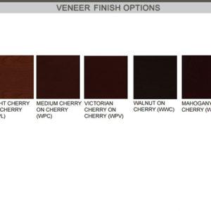 james edwards veneer finish options