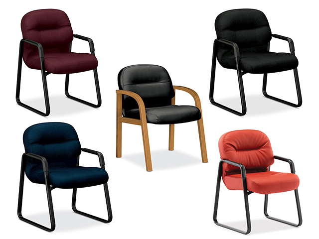 Pillow Soft Executive Options Guest Chairs