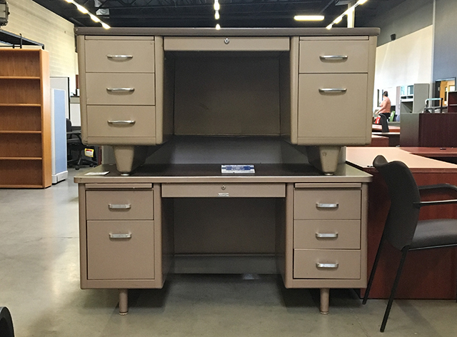 Used Metal Tank Desks