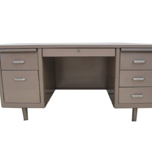 used metal tanker desk