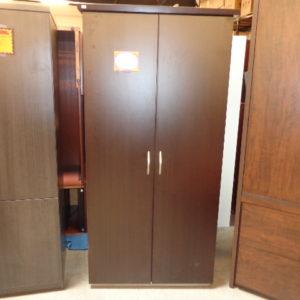 used storage wardrobe cabinet dmi mocha