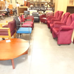 used reception chairs