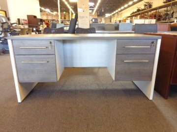 New 30×60 James Edwards Double Pedestal Desk
