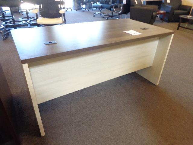 New 30x60 James Edwards Double Pedestal Desk