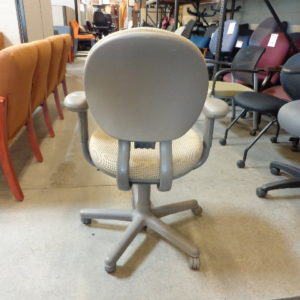 used criterion task chair beige