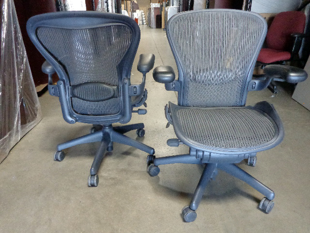 used herman miller aeron chair size b and a - Aeron Chair Sizes