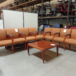 USED RECEPTION bench seating