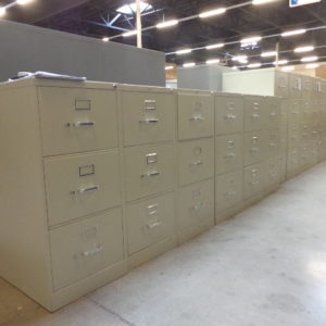 hon 3 drawer vertical file