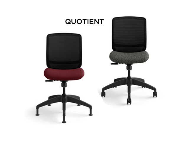Hon Quotient Armless Chairs
