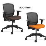hon-quotient-brown-orange-chairs