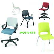 hon motivate chair options