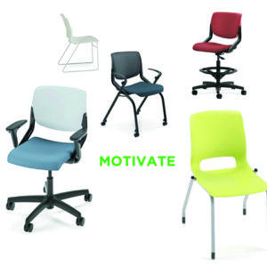 hon motivate chair options