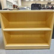 Used maple bookcase 2 shelf