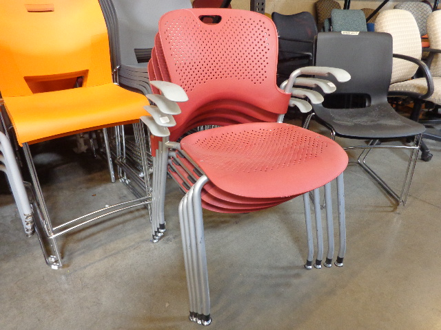 Used Herman Miller Caper Stack Chair - Arizona Office Furniture