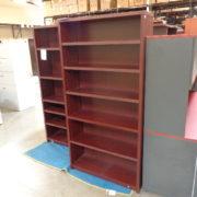 used mahogany bookcase