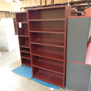 used mahogany bookcase